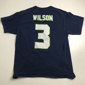 Majestic Russell Wilson Seattle Seahawks T-shirt